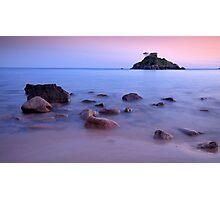Portelet Bay in Jersey C.I Photographic Print