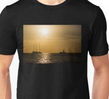 Tallship - Sunny Harbor Approach Unisex T-Shirt