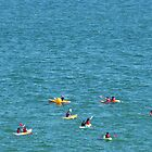 Paddling, Brighton by KUJO-Photo