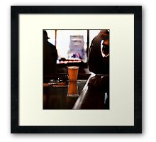 The Beer Framed Print