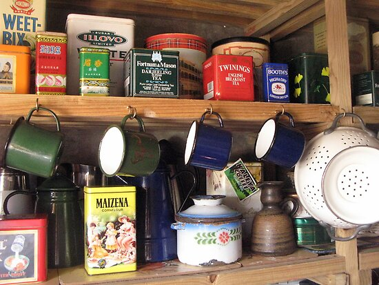 My Collection of Tins by Marie Theron