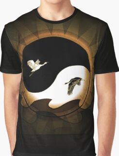 Birds of Yang Graphic T-Shirt