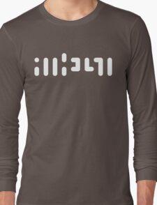 ATHEIST (white) Long Sleeve T-Shirt