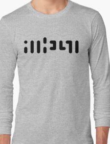 ATHEIST (black) Long Sleeve T-Shirt