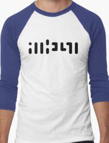 ATHEIST (black) Men's Baseball ¾ T-Shirt