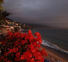 Sunset's Glow - Brillo De La Puesta Del Sol by Bernhard Matejka
