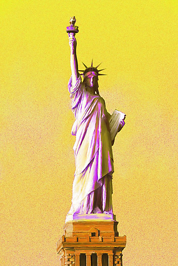 Lady Liberty by Andrea Meyer