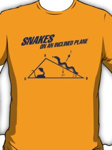 Snakes On An Inclined Plane T-Shirt