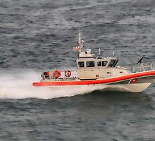 USCG Patrol Boat RB-M by Timothy Gass