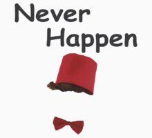 Never Happen One Piece - Short Sleeve