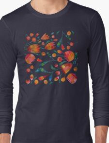 Buds and Flowers Long Sleeve T-Shirt