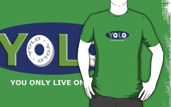 YOLO Mints Tee by TooManyPixels