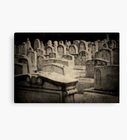 A Dark History Canvas Print