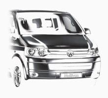 VW T5 Multivan One Piece - Long Sleeve