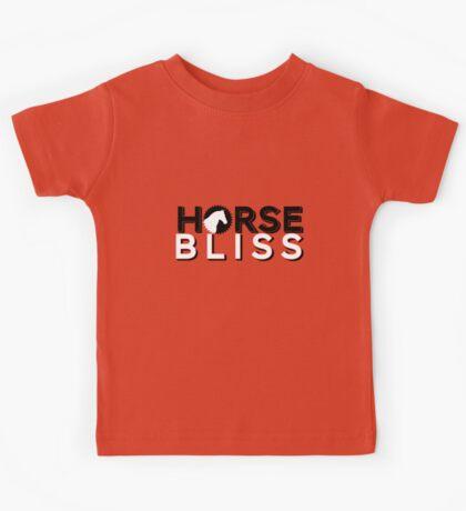 Horsebliss Branded Clothing Kids Tee