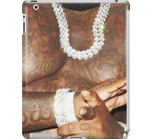 Rick Ross Body tatoo iPad Case/Skin