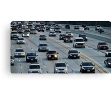 The Rush Hour Canvas Print