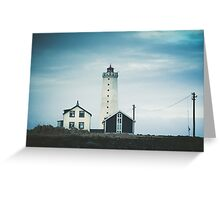 Grotta Lighthouse Greeting Card