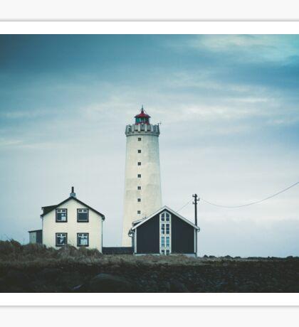 Grotta Lighthouse Sticker