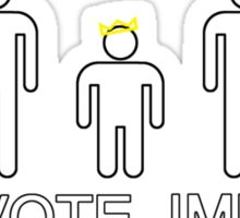 Vote IMP Sticker