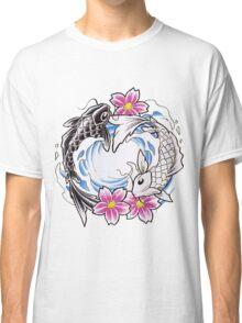 Yin Yang Chinese Koi Fish T-Shirt Classic T-Shirt