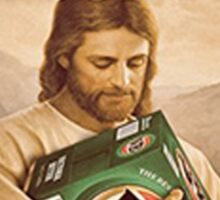 Jesus Died For Our Tins #3 Sticker