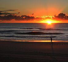 Sunrise Jogging  by myraj
