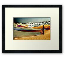 Dune Watcher Framed Print