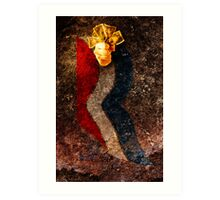 Believe in America. Sign of the times. Art Print