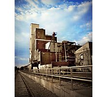 Mill Town Photographic Print