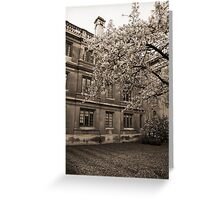 Clare College Cambridge Greeting Card