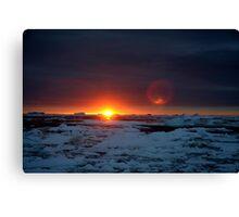 Antarctic Sunrise Canvas Print