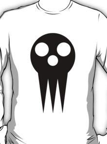 Soul Eater Skull - Black T-Shirt