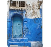 Blue city Chefchaouen, Morocco. iPad Case/Skin
