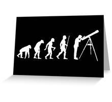 Astronomy Evolution T Shirt Greeting Card