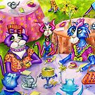 Biddy Kitty Tea Party, by Alma Lee by Alma Lee
