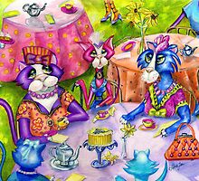 Biddy Kitty Tea Party, by Alma Lee by Alma Lee