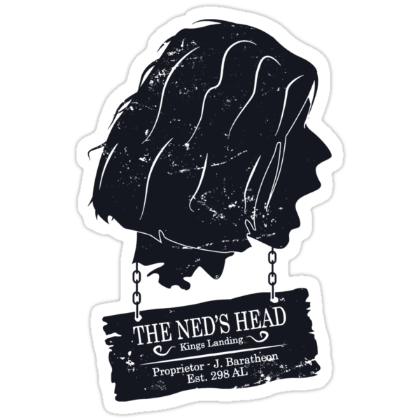 The Ned's Head (Black) by maclac