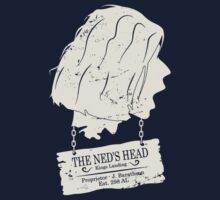 The Ned's Head (White) T-Shirt