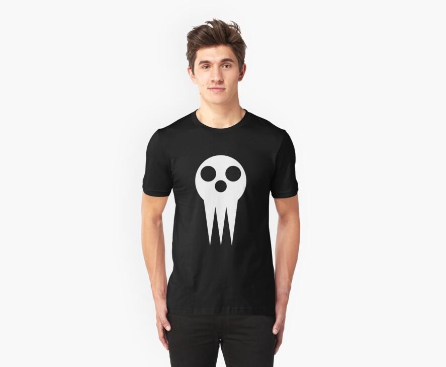 Soul Eater Skull - White by Ely Prosser