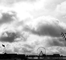 Blackpool in Black and White by Chris Pilcher