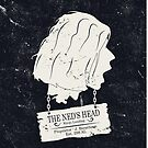 The Ned's Head (White - iPhone Case) by Malc Foy