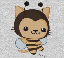 Bee Cat Kids Clothes