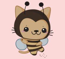 Bee Cat One Piece - Long Sleeve