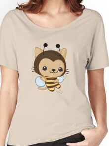 Bee Cat Women's Relaxed Fit T-Shirt