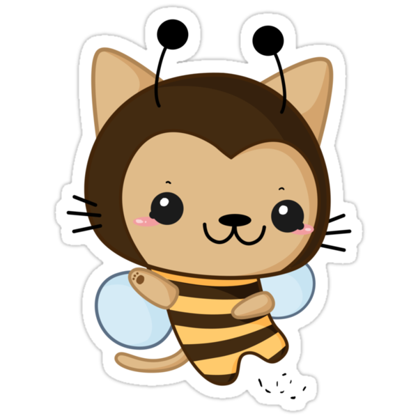 Bee Cat by lunaticpark