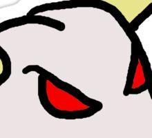 Horny Skull Sticker