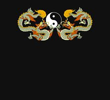 Yin Yang Dragon Black T-Shirt T-Shirt