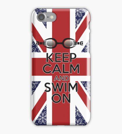 Swim London iPhone Case/Skin