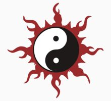Yin Yang T-Shirt by AsianT-Shirts